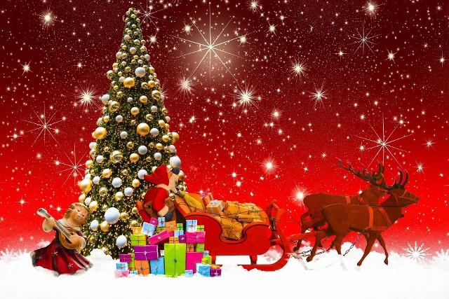 Życzenia świąteczne od uczniów szkoły
