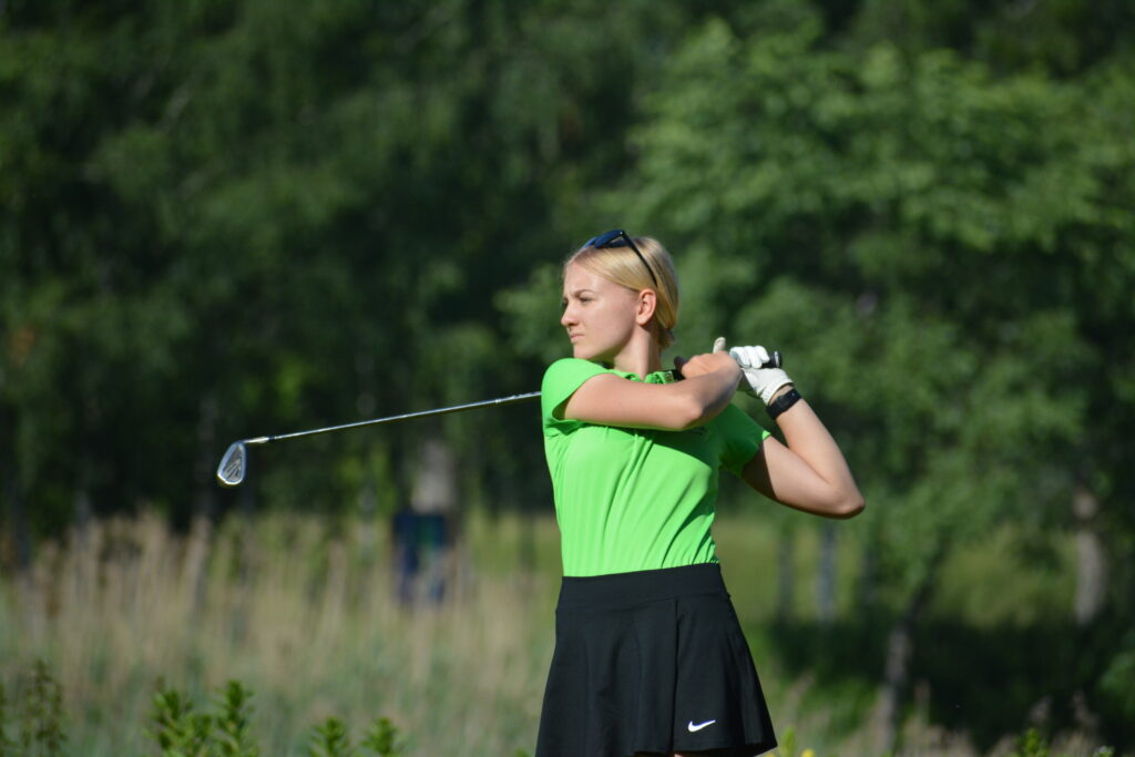 Emilia Dawid ze złotym medalem- kolejny sukces naszej golfistki